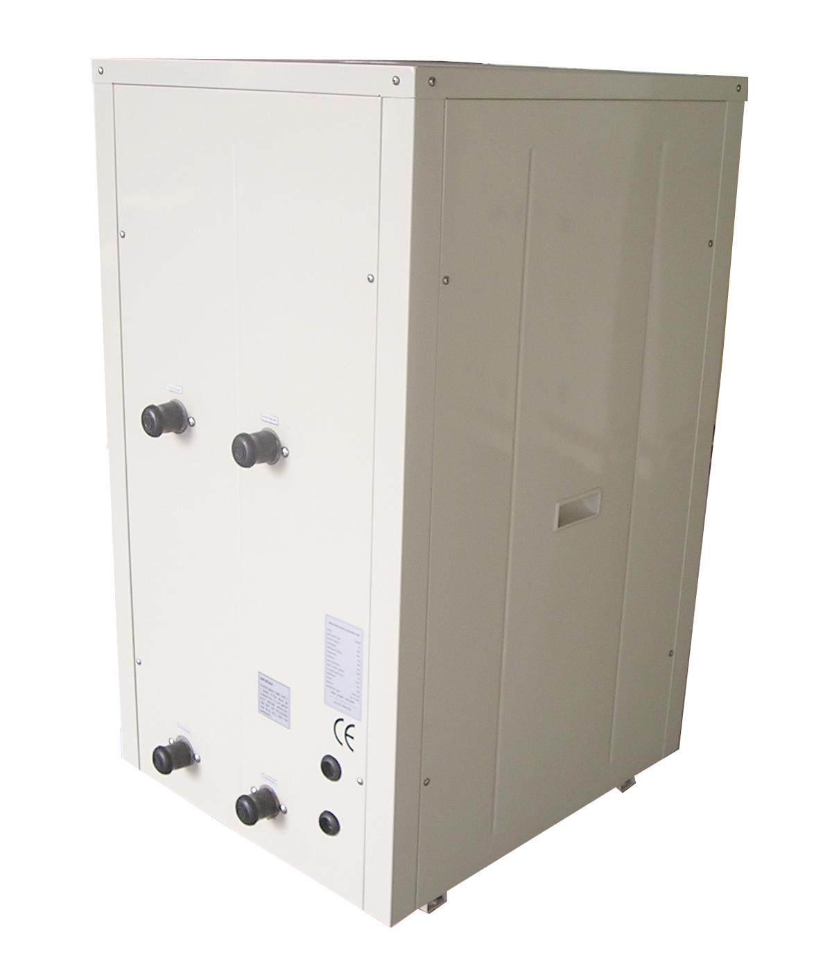 Water to water heat pump,COP 4.5-5.5 efficient ground source heat pump